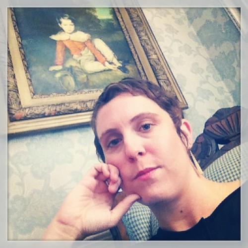 #TeenagedSelfie 2: colonial living room waiting