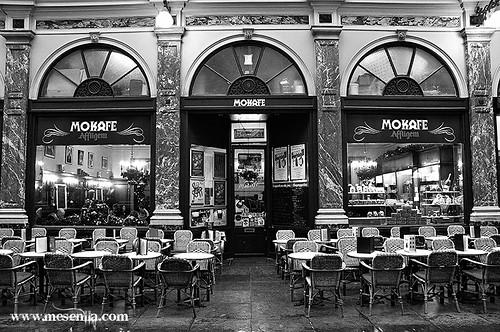 Cafè a Brussel·les