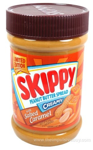 Skippy Limited Edition Creamy Peanut Butter Spread with Salted Caramel