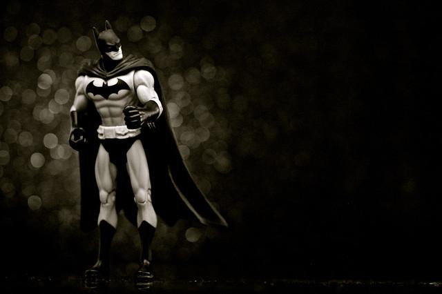Infinite Batman (Black & White)