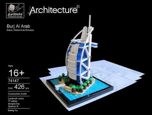 LEGO Burj Al Arab