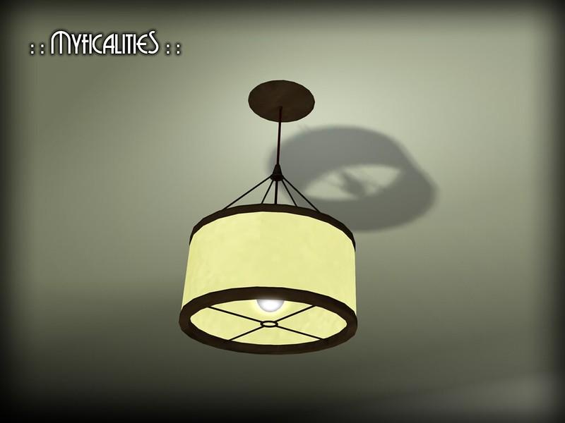 Barreled Ceiling Light