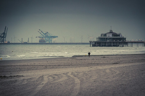 The Pier (Blankenberge, Belgium) - Photo : Gilderic