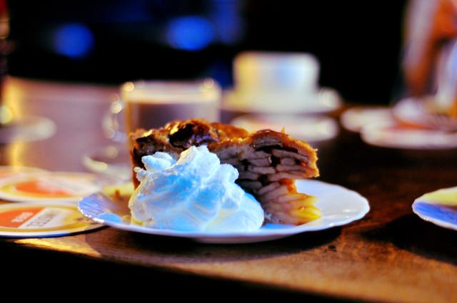 Cafe Papaneiland Apple Pie