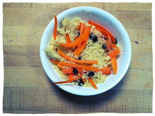 Couscous bowl.