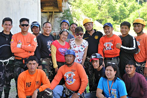 Search and Rescue Proficiency Training 2013 with PAF 5057th SAR Squadron and Provincial DPS