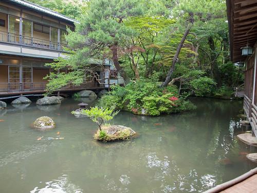Arai Ryokan Courtyard 1