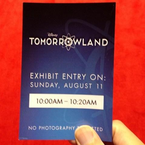 Tomorrowlandの展示を軽く見たらウホってなった。これウォルト版のダヴィンチ・コードじゃないか!!!