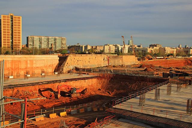 Zona del antiguo puente del Trabajo desmantelado - 11-04-12 - © Marc Arroyo