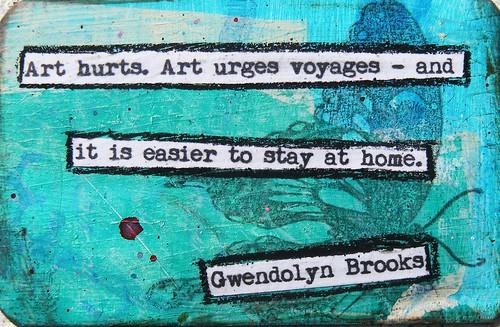 Gwendolyn Brooks Creativity Quote