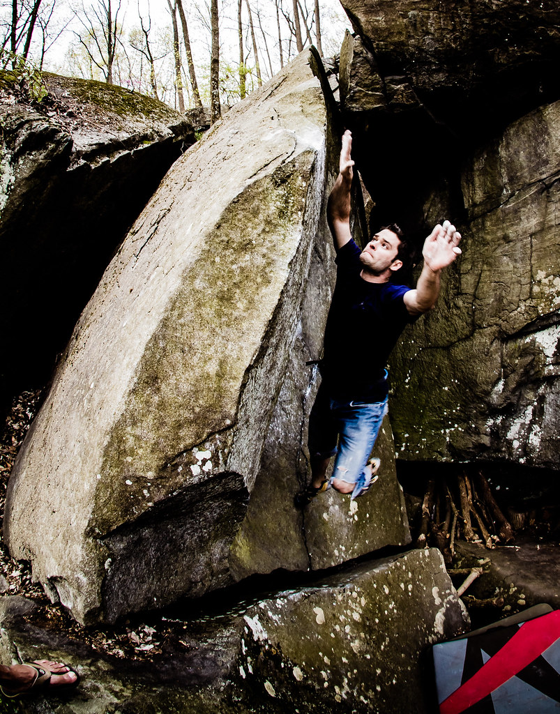 Max dynoing The Wave (V6)