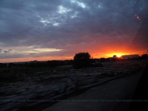 Sunset on the road by [Piccola_iena]