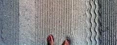 Patterns at my feet
