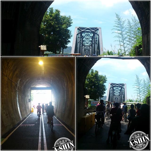 九號隧道出口處,最容易..