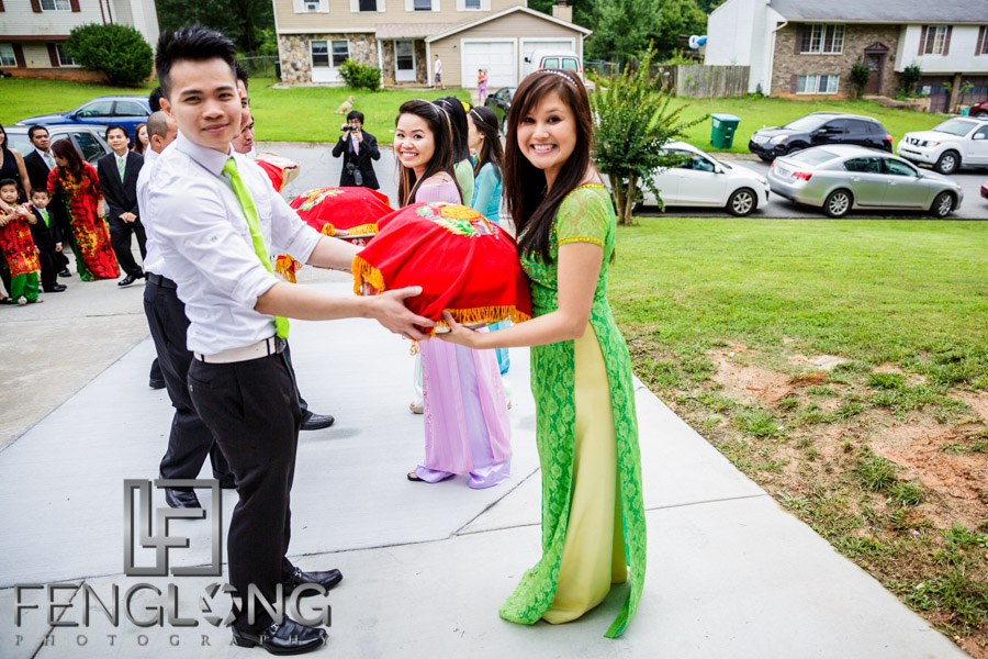 Lien & Andy's Engagement Ceremony | Atlanta Vietnamese Wedding Photography