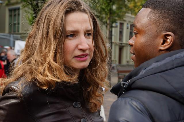 Sharon Gesthuizen en Mauro. Foto door Roel Wijnants, op Flickr.