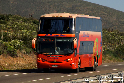 Pullman Bus - Ruta 5 - Busscar Panorâmico DD / Scania (BGWL96)
