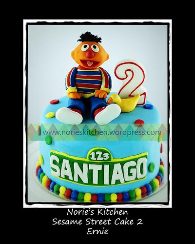 Norie's Kitchen - Sesame Street Cake - Ernie by Norie's Kitchen
