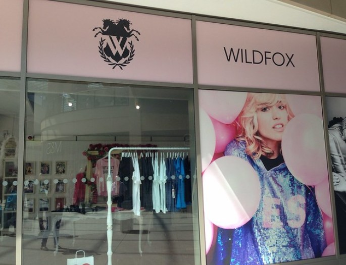 Wildfox popup shop