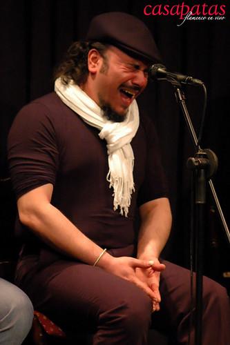 Antonio Ingueta en Casa Patas. Foto: Martín Guerrero