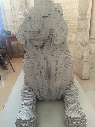 Lego Lion NYPL
