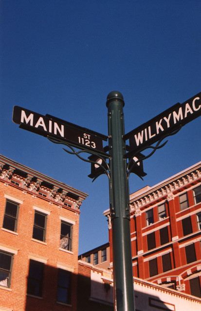 Street Sign - Over The Rhine, Cincinnati, OH