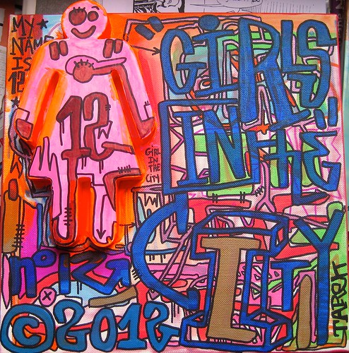 Girls in the City #12 by Tarek by Pegasus & Co