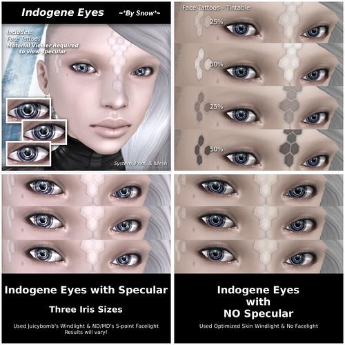 Indogene Eye Promos