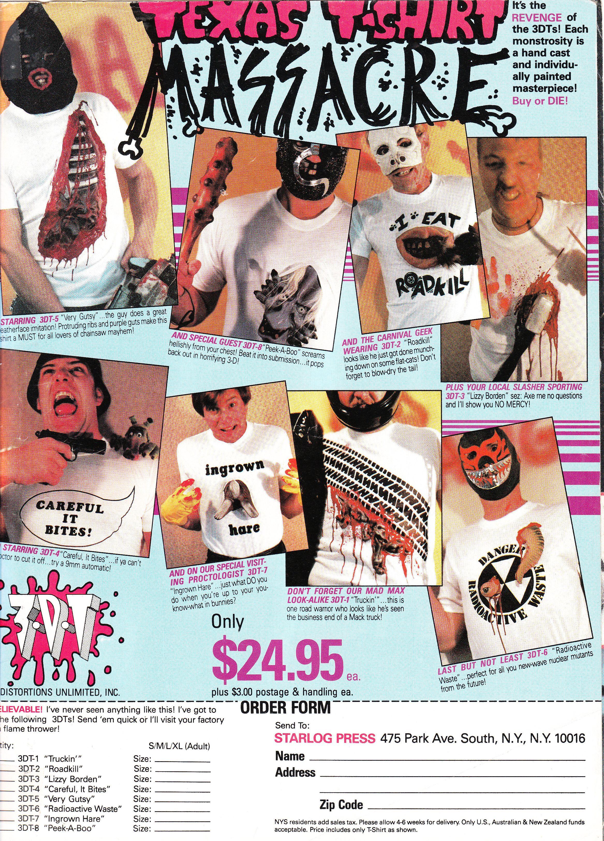 TX Tshirt Massacre