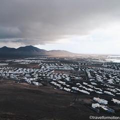 #clouds vs #sun above #lanzarote #volcano #white #houses #landscape #vsco #vscocam #wanderlust #travel #travelgram #guardiantravelsnaps #españa