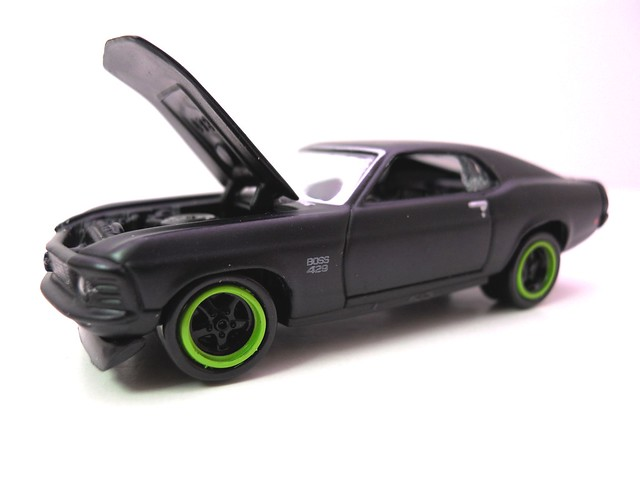 johnny lightning 1970 ford mustang boss 429 blk (2)