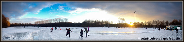 IJsclub Lelystad geeft Lucht! (24-01-2013).