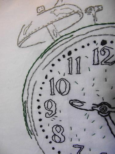 Time's a tickin close up