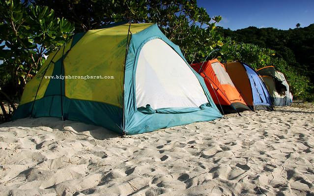 Camping Calaguas Island