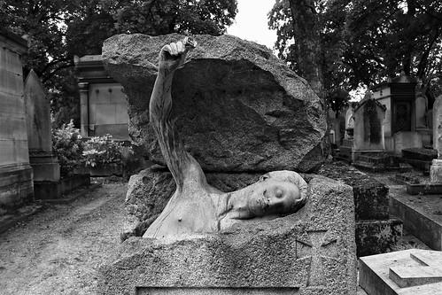 Rodenbach's tomb Père-Lachaise Cemetery