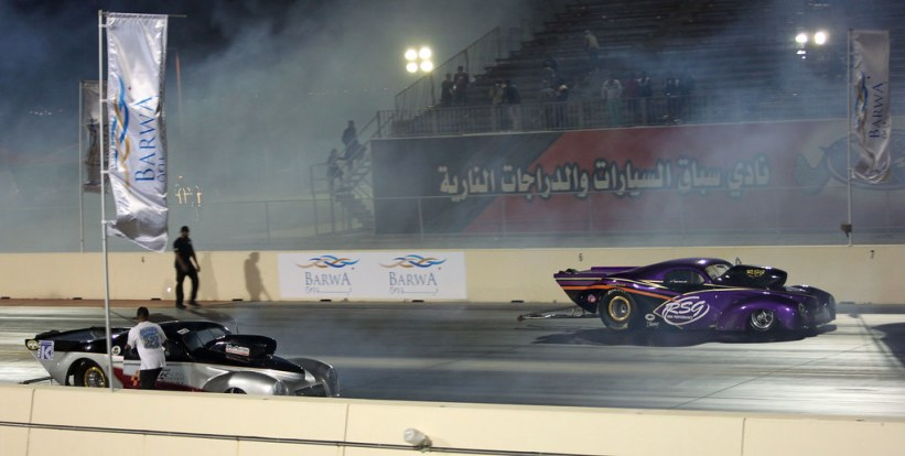 drag racing i Doha Qatar