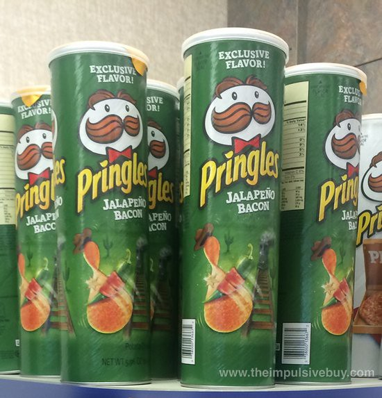 Exclusive Flavor Jalapeno Bacon Pringles