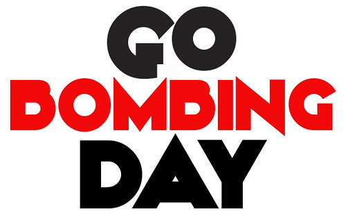 "Sticker Design Contest - ""Go Bombing Day"" by Bomit.com"
