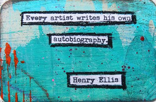Henry Ellis Creativity Quote