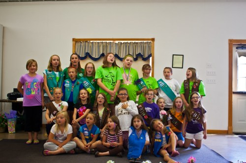 Girl Scouts Banquet 2012