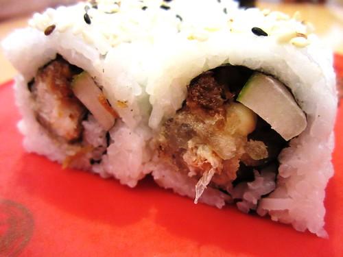 Softshell crab sushi