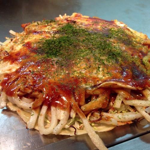 広島焼 うどん肉玉