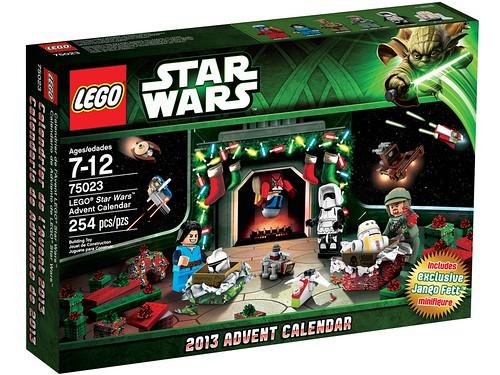 75023 LEGO Star Wars Advent Calendar BOX
