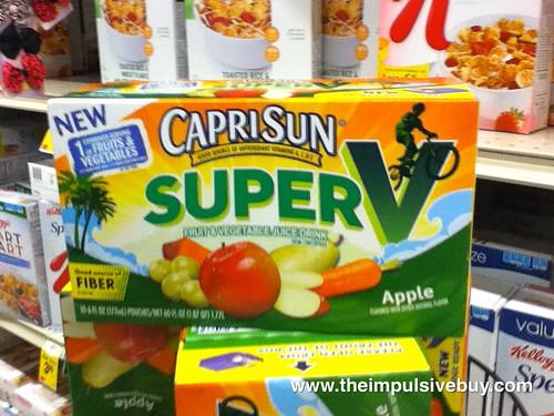 Capri Sun Super V On Shelf