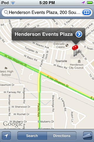 Henderson Events Plaza