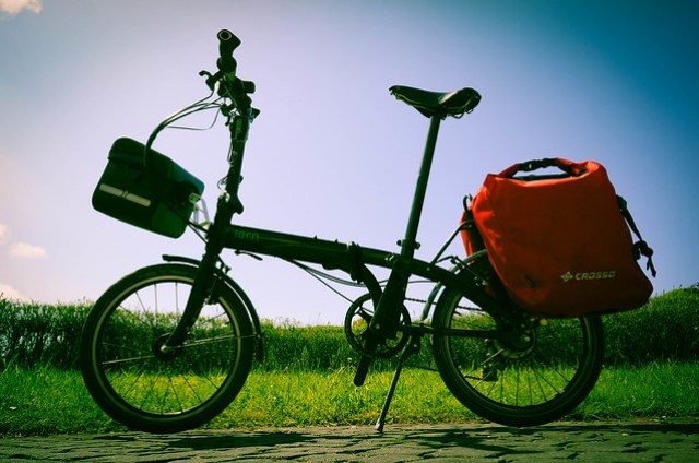 Tern Link P24h: Complete loaded bike