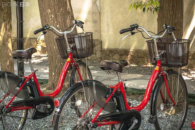 Rental bikes, Kamakura