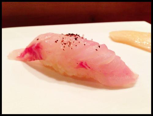 Akaisaki Kobujime (Kelp-Marinated Red Bass)