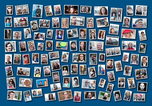 100 Strangers Montage by haggisandchips