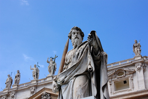 4 Statue of St. Paul  (Vatican City)